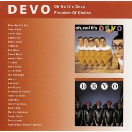 Devo – Oh No It's Devo / Freedom Of Choice