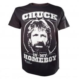 Chuck Norris - Chuck Is My Homeboy (Taglia M)