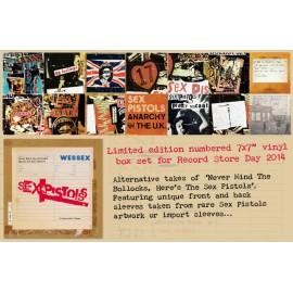 """Sex Pistols - Never Mind The Bollocks... (Box 7 Vinili 7"""" - 45 giri)"""