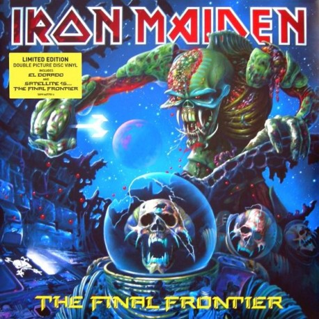 "Iron Maiden - The Final Frontier (Doppio Vinile Picture Disc 12"")"