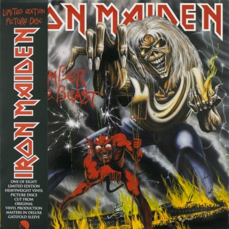 """Iron Maiden - The Number Of The Beast (Vinile Picture Disc 12"""")"""