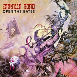 "Manilla Road - Open The Gates (Vinile Marrone 12"")"