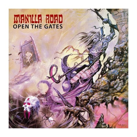 """Manilla Road - Open The Gates (Vinile Marrone 12"""")"""