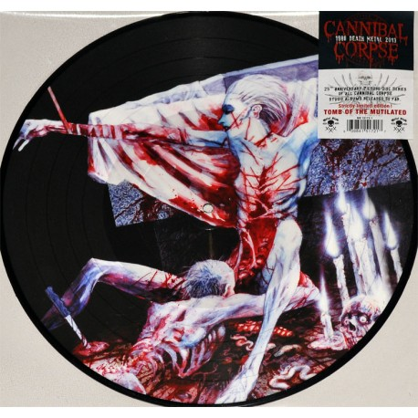 "Cannibal Corpse - Tomb OF The Mutilated (Vinile Picture 12"")"