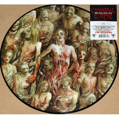 """Cannibal Corpse - The Bleeding (Vinile Picture 12"""")"""