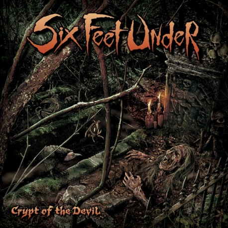 "Six Feet Under - Crypt Of The Devil (Vinile 12"")"