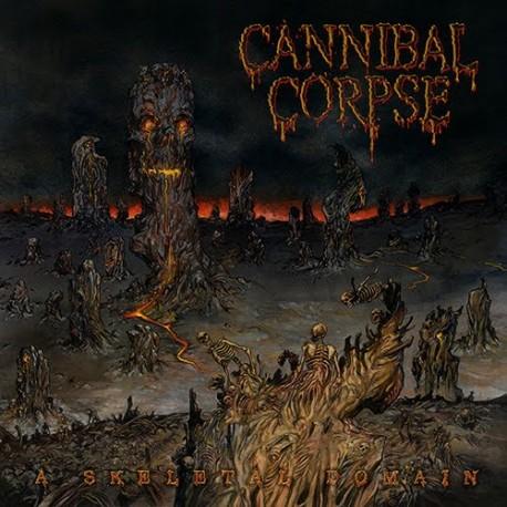 "Cannibal Corpse - A Skeletal Domain (Vinile Grigio 12"")"