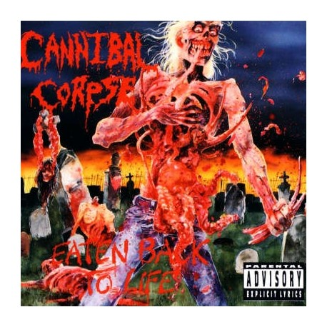 """Cannibal Corpse - Eaten Back To Life (Vinile Colorato 12"""")"""