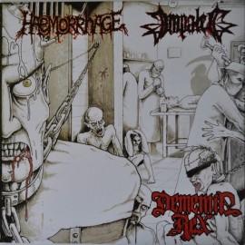 """Haemorrhage / Impaled - Dementia Rex (Vinile Verde 12"""")"""