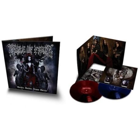 """Cradle Of Filth - Darkly, Darkly, Venus Aversa (Doppio Vinile Colotato 12"""")"""