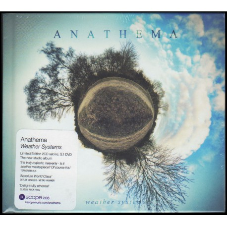 Anathema - Weather Systems (Cd + Dvd Audio 5.1 - Digibook)
