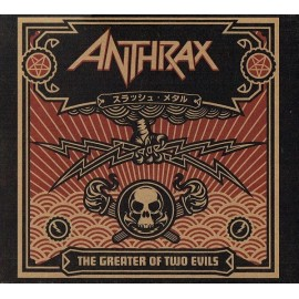Anthrax - The Greater Of Two Evils (2 Cd Digipack)
