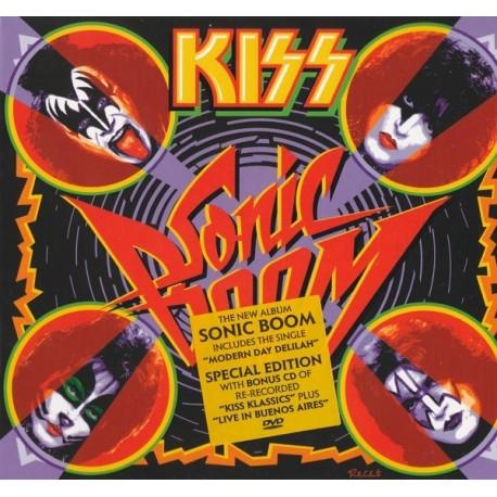 Kiss - Sonic Boom (2 Cd + Dvd Digipack)