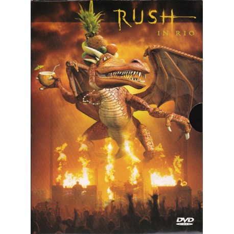 Rush ‎– Rush In Rio (2 Dvd Digipack con Slipcase)