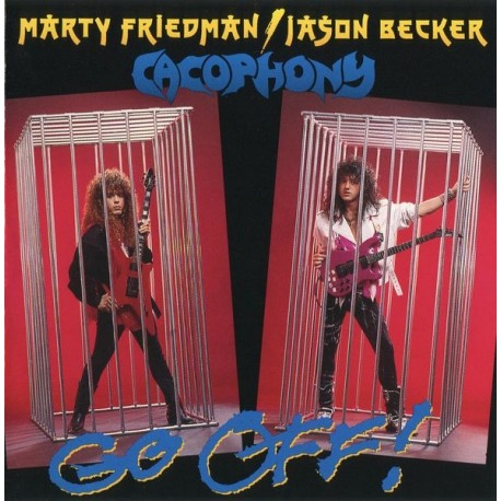 Cacophony – Go Off! (Digipack)