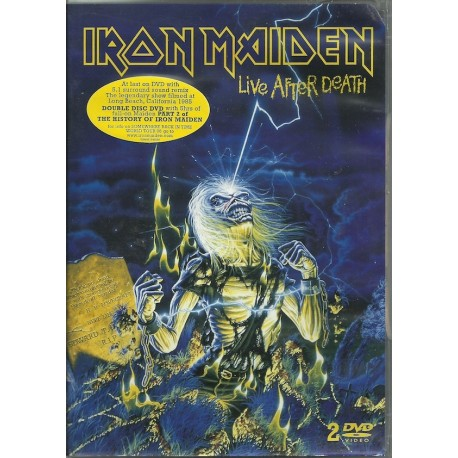 Iron Maiden ‎– Live After Death (2 Dvd)