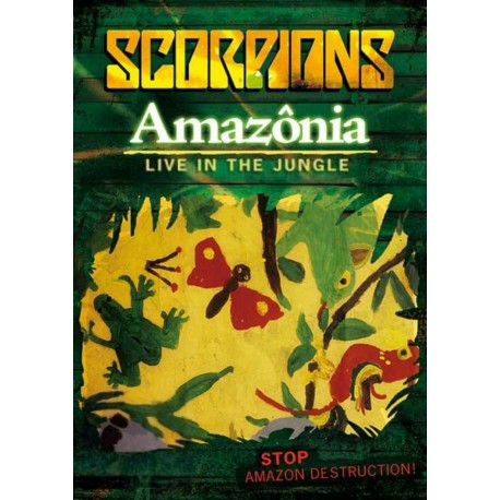 Scorpions ‎– Amazonia: Live In The Jungle