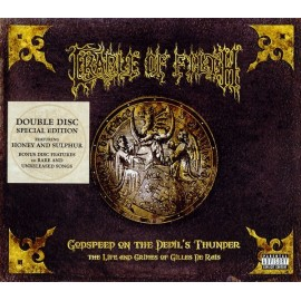 Cradle Of Filth ‎– Godspeed On The Devil's Thunder (Digipack)