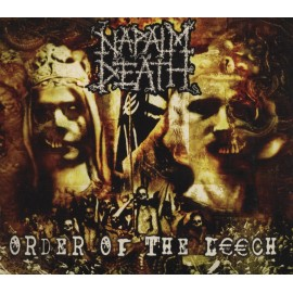 Napalm Death ‎– Order Of The Leech (Digipack)