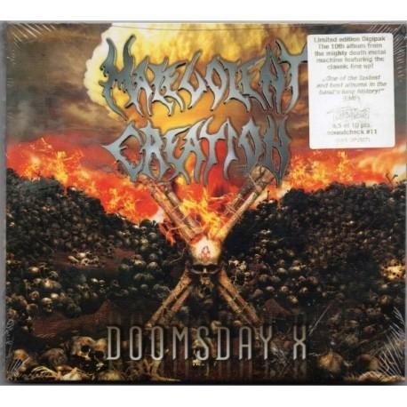 Malevolent Creation – Doomsday X (Digipack)