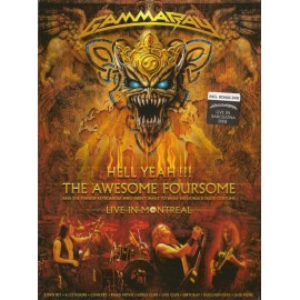 Gamma Ray – Hell Yeah!!! The Awesome Foursome (2 Dvd Digipack)