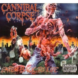 Cannibal Corpse ‎– Eaten Back To Life (Digipack)