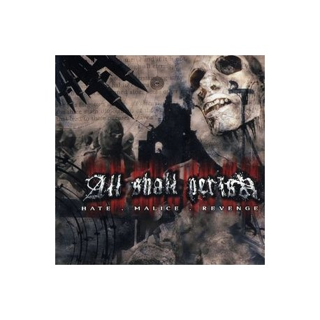 All Shall Perish ‎– Hate.Malice.Revenge