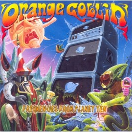 Orange Goblin – Frequencies From Planet Ten (Digipack)