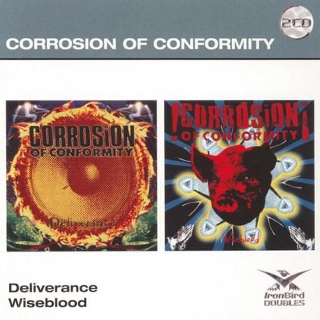 Corrosion Of Conformity – Deliverance / Wiseblood (2 Cd)