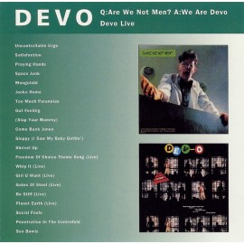 Devo ‎– Q: Are We Not Men? A: We Are Devo / Devo Live