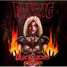 """Danzig - Black Laden Crown (Vinile Giallo 12"""")"""