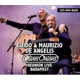 Oliver Onions - Reunion Live Budapest (2Cd + Dvd + Book)