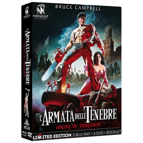 Armata Delle Tenebre (L') (Limited Edition) (3 Blu-Ray + 4 Dvd + Booklet)