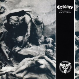 "Coroner - Punishment For Decadence (Vinile Nero 12"")"