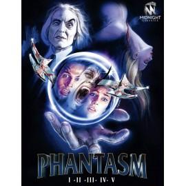 Phantasm 1-5 (Edizione Limitata) - 6 Blu-Ray + Book Da Collezione