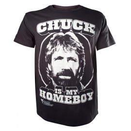 Chuck Norris - Chuck Is My Homeboy (Taglia M)