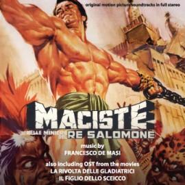 Maciste Nelle Miniere Di Re Salomone / La Rivolta Delle Gladiatrici / Il Figlio Dello Sceicco - Cd