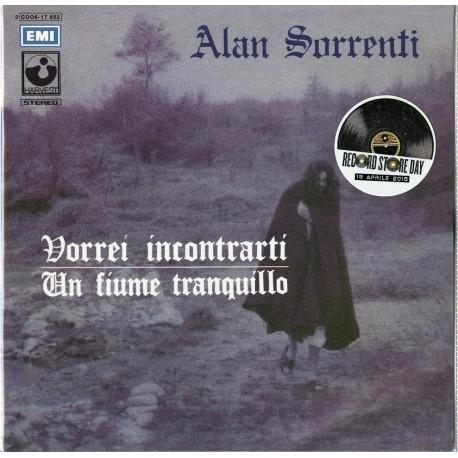 """Sorrenti, Alan - Vorrei Incontrarti / Un Fiume Tranquillo (Vinile 7"""")"""