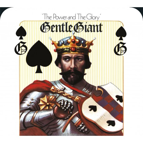 "Gentle Giant - The Power And The Glory (Vinile 12"")"