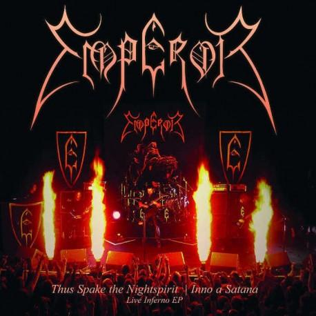 """Emperor - Thus Spake The Nightspirit / Inno A Satana (Vinile Dorato 7"""")"""