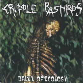 "Cripple Bastards / P.E.L.M.E. – Dawn Of Ecology (Split) - Vinile 7"""