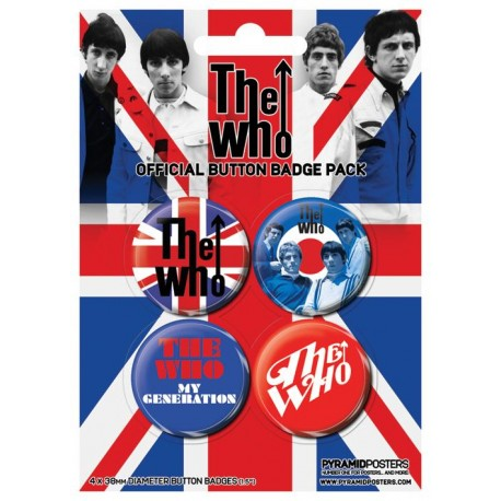Who (The) - Union Jack - Spille