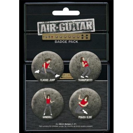 Air Guitar Moves - Spille